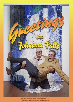 Johnston Falls, 2011 - postcards - Shelley Ouellet